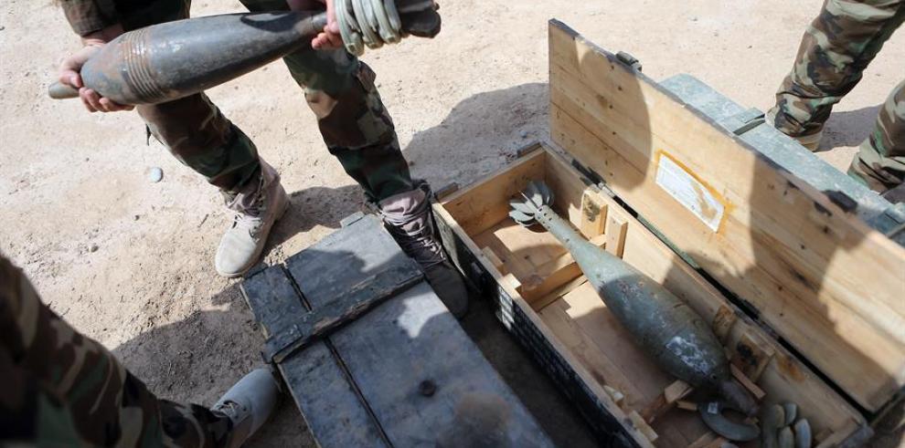 La policía iraquí confirma el impacto de misiles en una base con tropas de EE.UU.