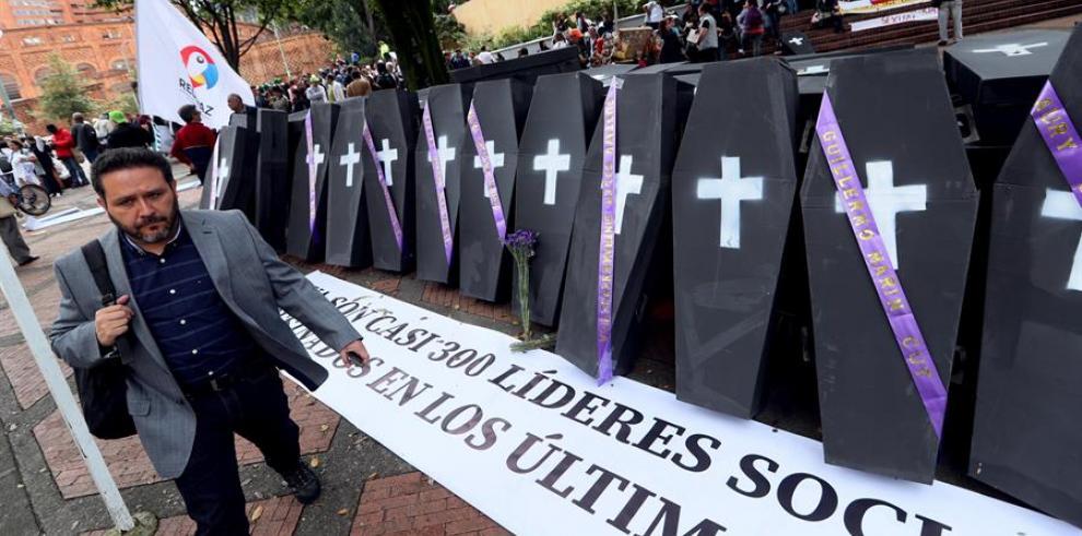 Asesinato de líderes sociales Colombia
