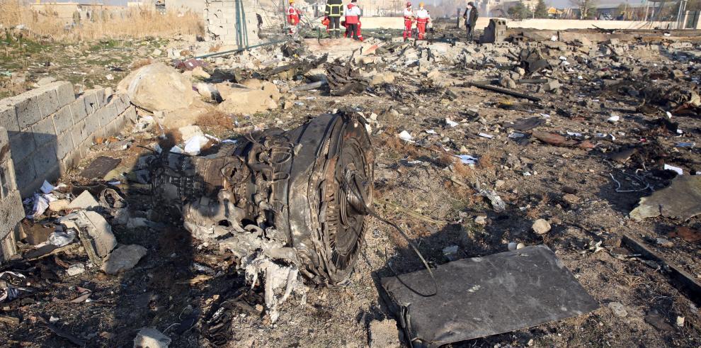 Canadá confirma que el avión de UIA fue derribado por un misil iraní