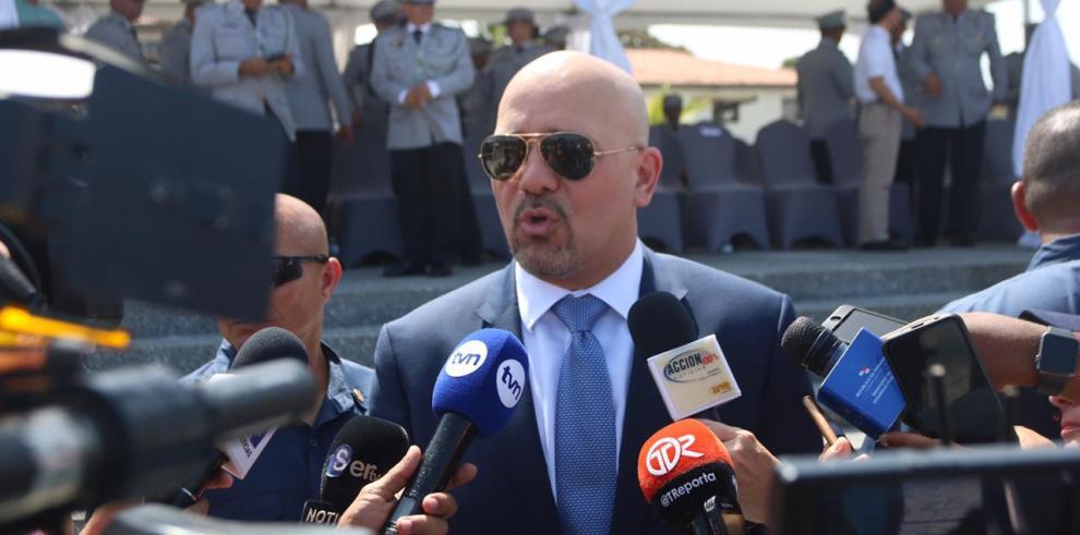 Rolando Mirones, ministro de Seguridad Pública