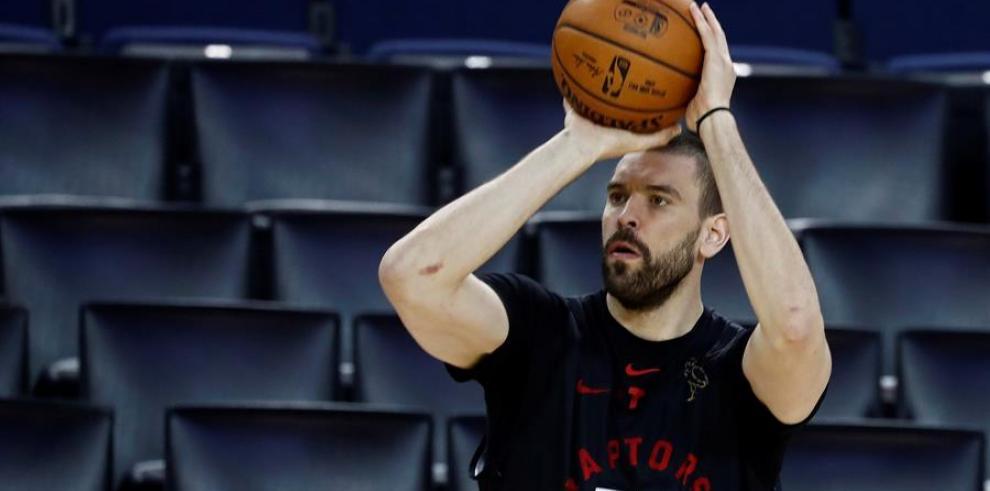 El jugador de los Toronto Raptors Marc Gasol.