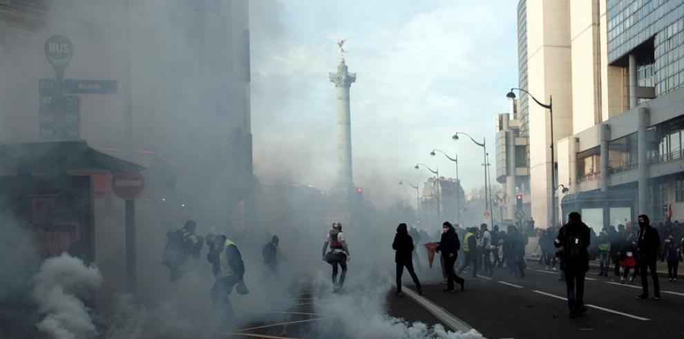 protestas Francia 2020