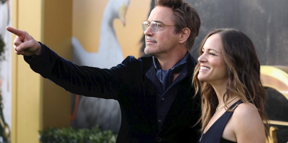 Robert Downey Jr. y esposa Susan