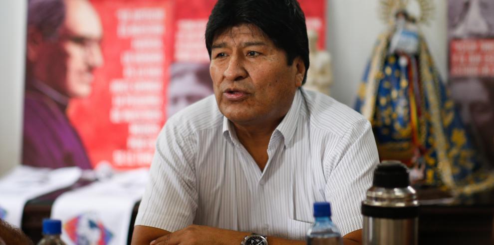El expresidente de Bolivia Evo Morales.