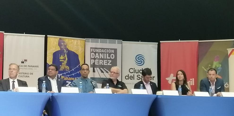 Rueda de prensa del Panama Jazz Festival