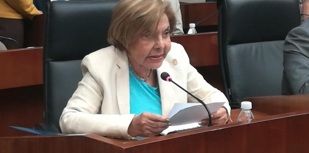 Mayín Correa, diputada de Cambio Democrático.