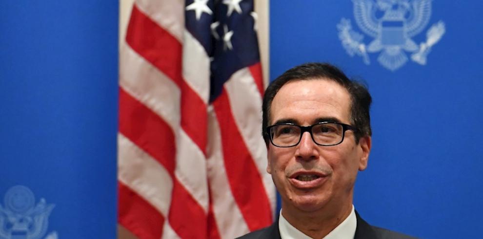 En la imagen, el secretario del Tesoro de Estados Unidos, Steven Mnuchin.