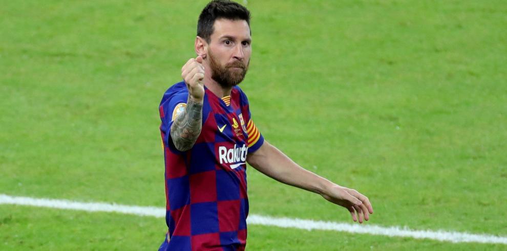 Leo Messi obtiene su undécima participación después de anotar en la UEFA Champions League en quince temporadas consecutivas.
