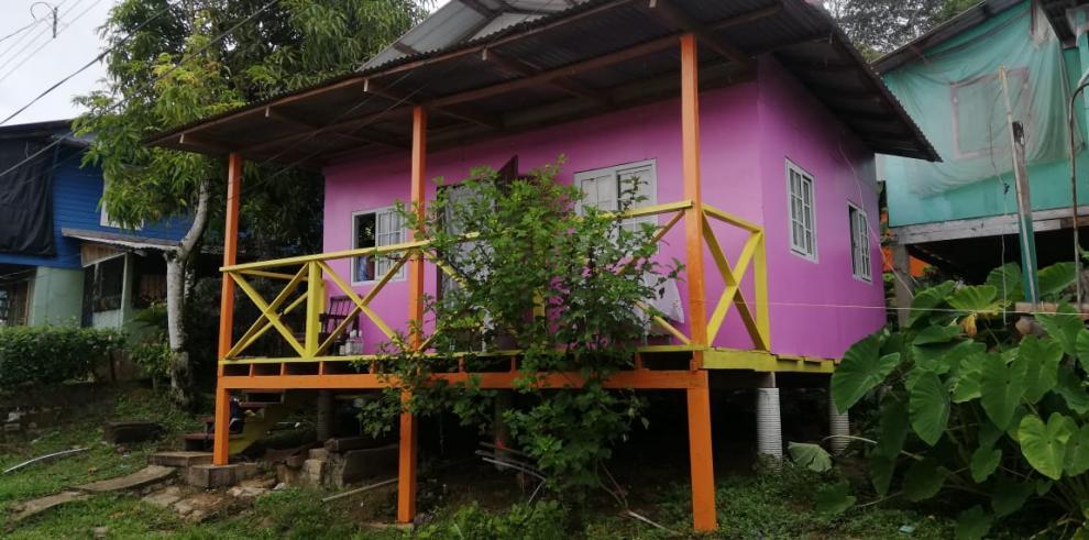 Casa en isla Bastimentos