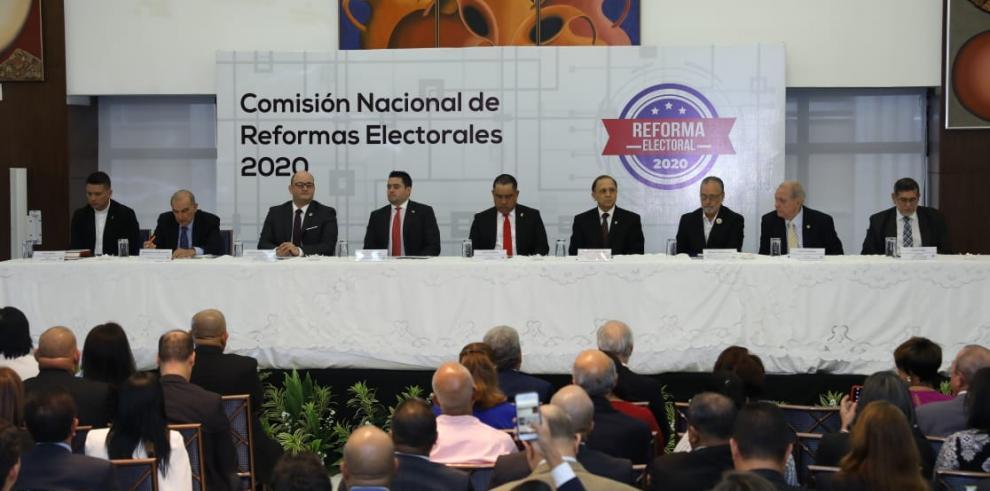 Instalación de la Comisión Nacional de las Reformas Electorales.