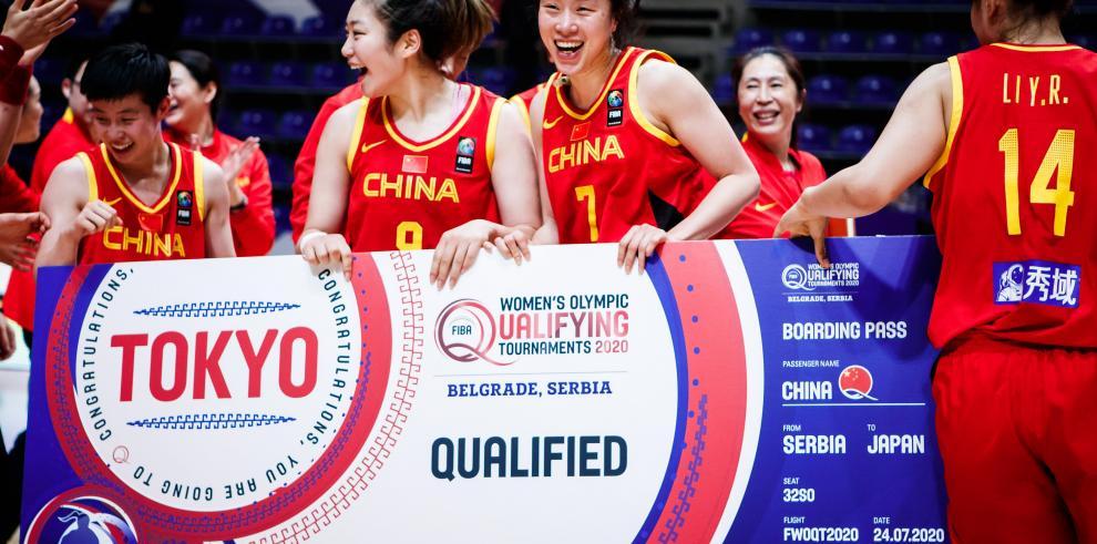 Selección de China.