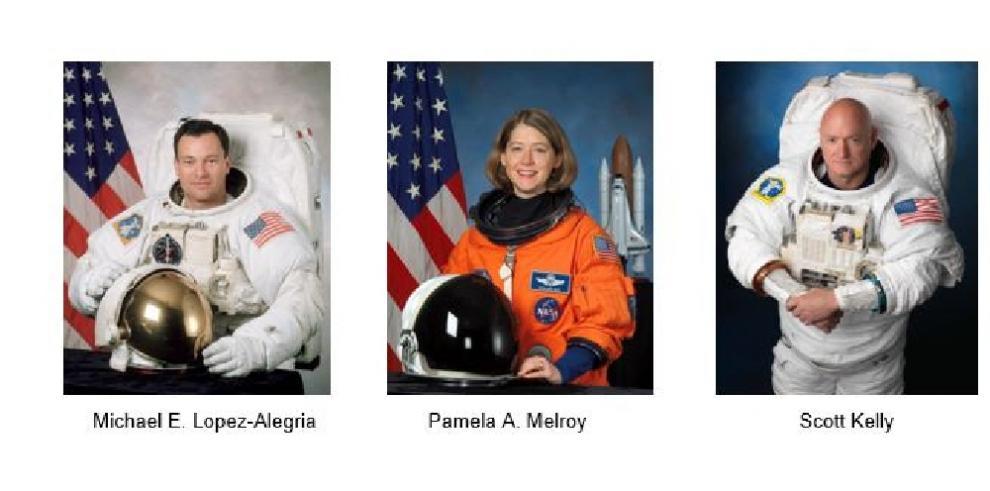 Astronautas de NASA
