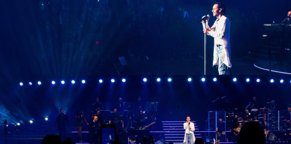 El cantante estadounidense de origen puertorriqueño Marc Anthony