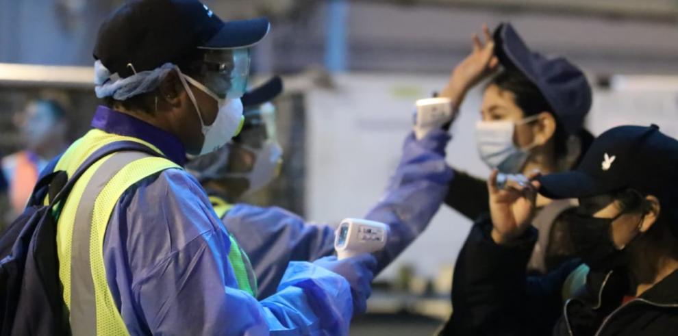 Estudiantes panameños procedentes de China se mantenían en un centro para la atención bajo observación médica por 14 días