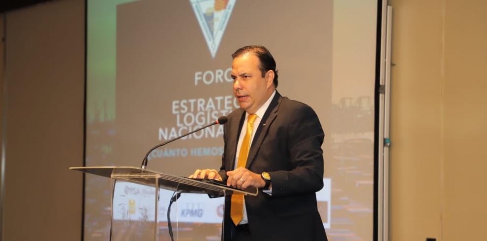 El presidente del Consejo Empresarial Logístico de Panamá (COEL), Antonio García-Prieto