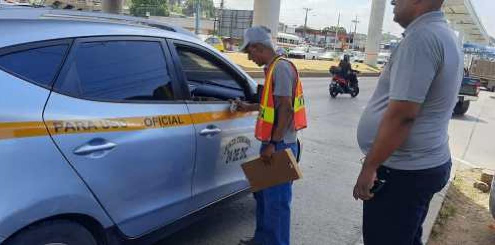 Operativo de vehículos del Estado en Carnaval