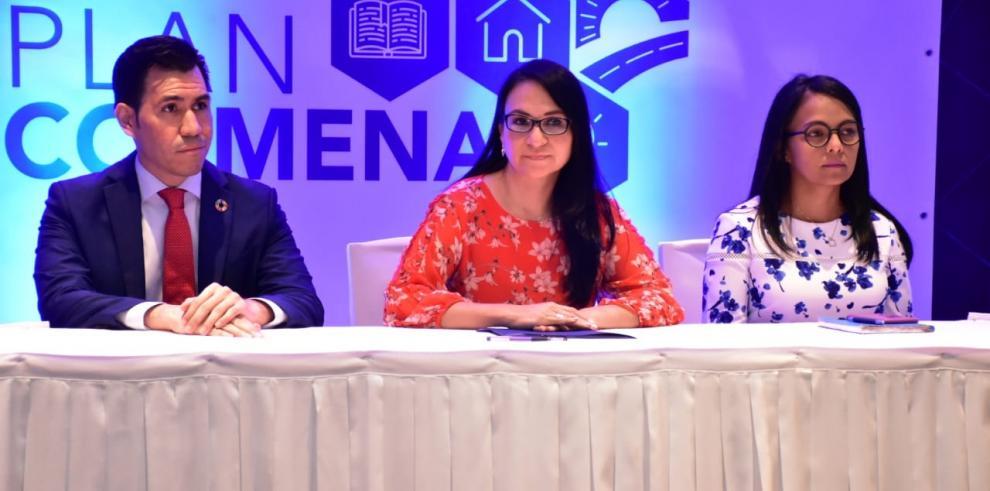 La ministra de Desarrollo Social, Markova Concepción Jaramillo explicó al sector privado cómo será la estrategia para implementar el plan Colmena.