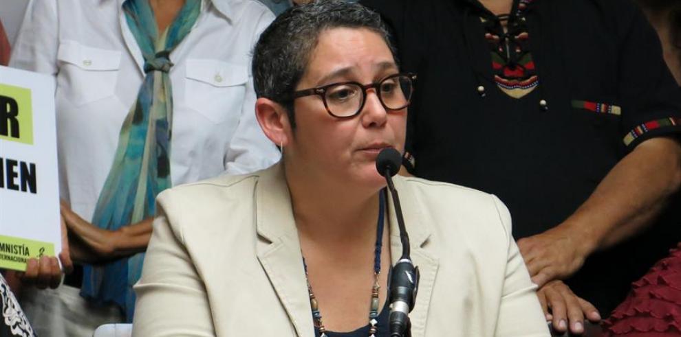 La directora ejecutiva de Amnistía Internacional de Puerto Rico, Liza Gallardo