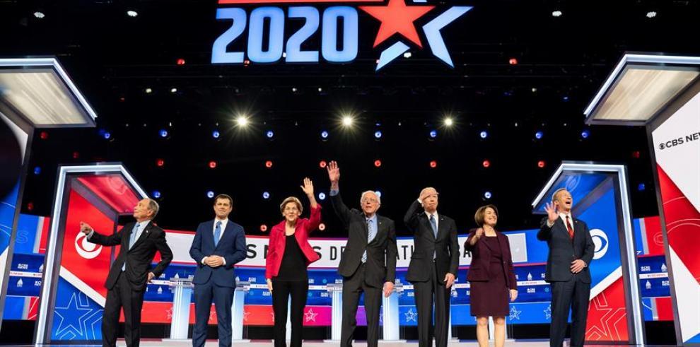 Sanders debate demócrata
