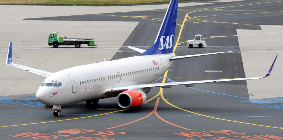 Aerolínea Scandinavian Airlines Systems