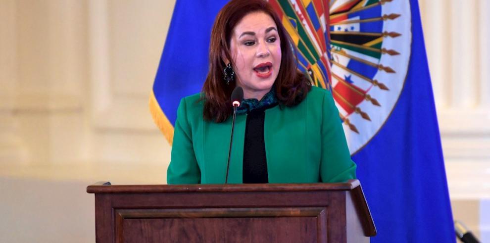 La ecuatoriana María Fernanda Espinosa