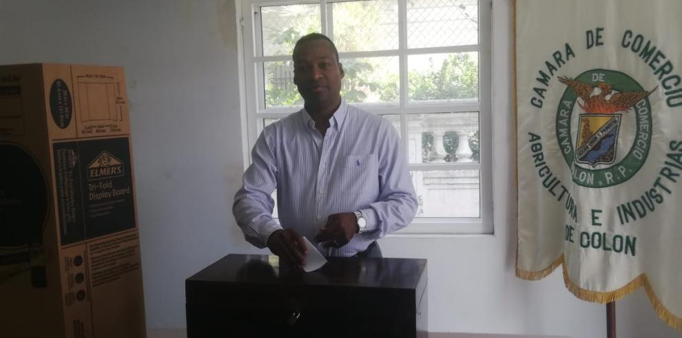 Gilberto Mena, nuevo presidente de la CCIAP de Colón