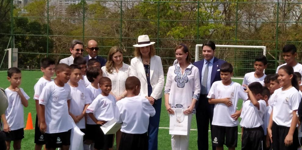 Infanta Elena en Panamá
