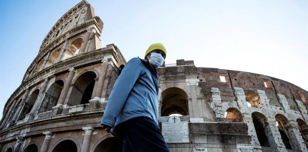Coliseo en Roma (Italia).