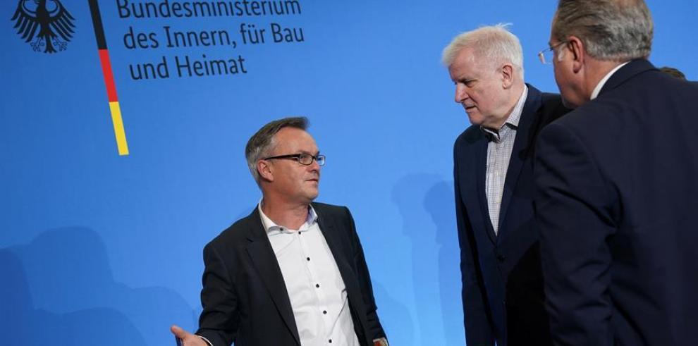 Ministro del interior de Alemania, Horst Seehofer