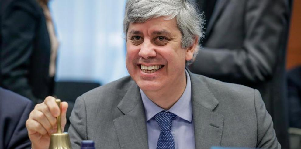 Presidente del Eurogrupo, Mário Centeno