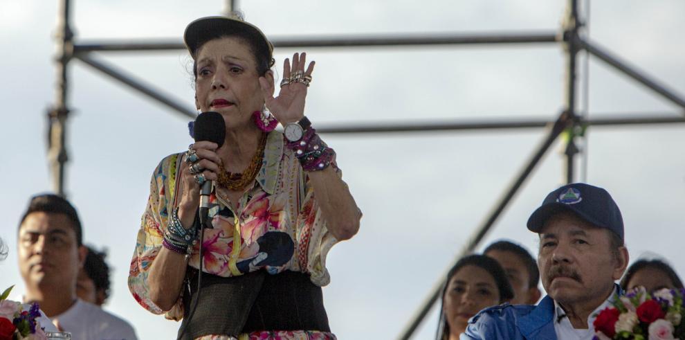 Vicepresidenta nicaragüense, Rosario Murillo
