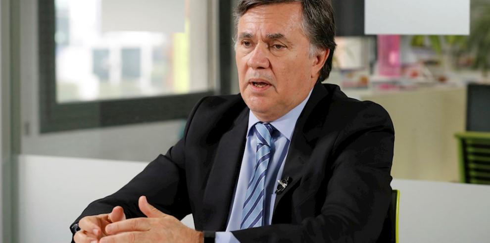 En la imagen un registro del director general del Instituto Interamericano de Cooperación para la Agricultura (IICA), el argentino Manuel Otero