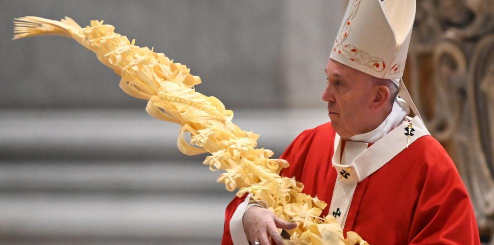 Esta será una Semana Santa particular que Francisco celebrará sin fieles