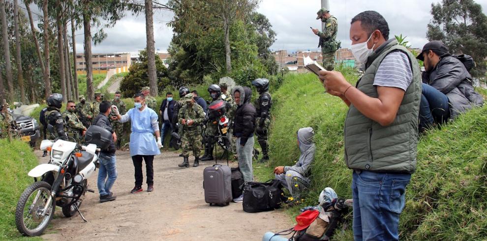 Colombia COVID-19 frontera con Ecuador