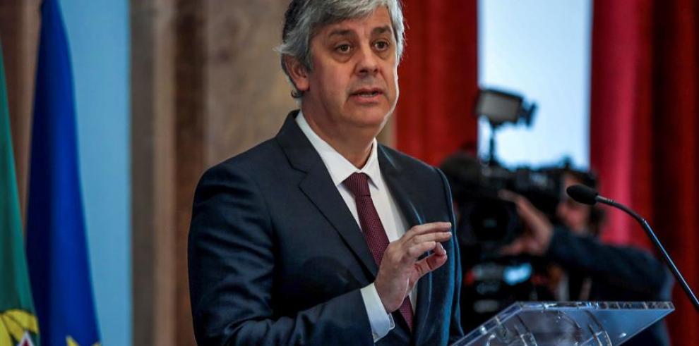 Mario Centeno, presidente del Eurogrupo.