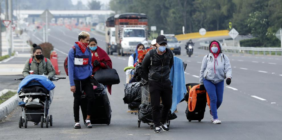 Migrantes venezolanos dejan Bogotá