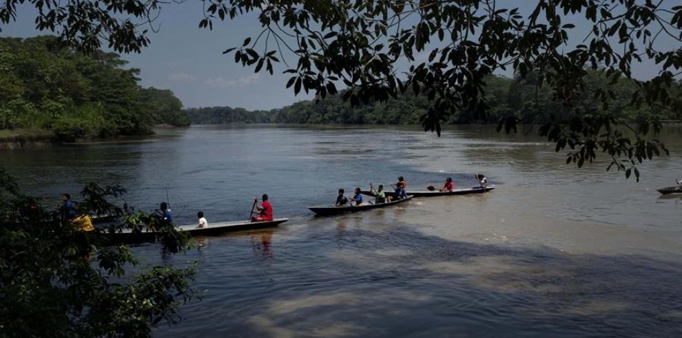 Río de la Amazonía ecuatoriana.