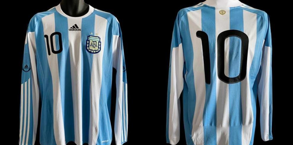 Camiseta usada de Lionel Messi