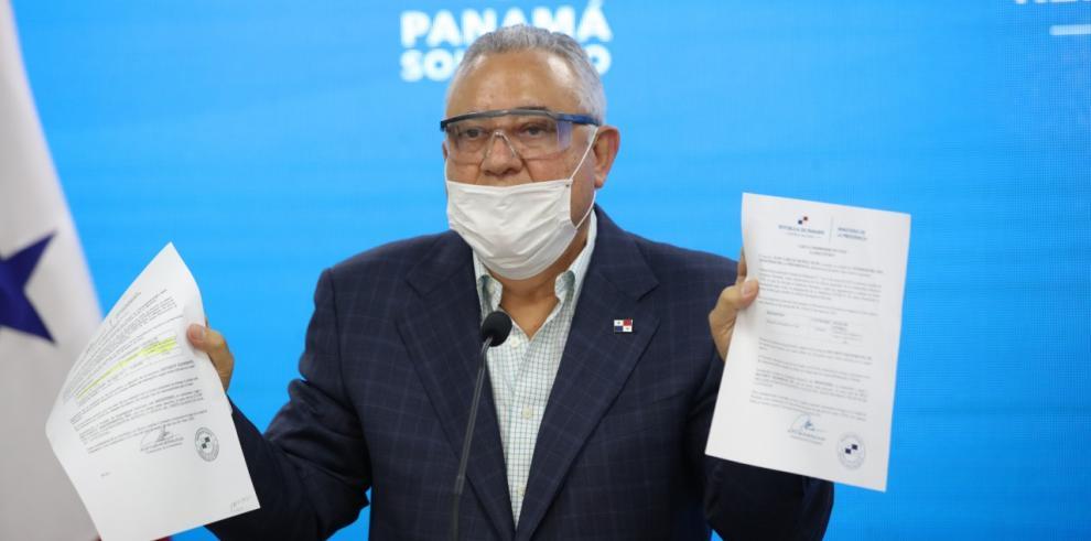 El viceministro de Presidencia Carlos García
