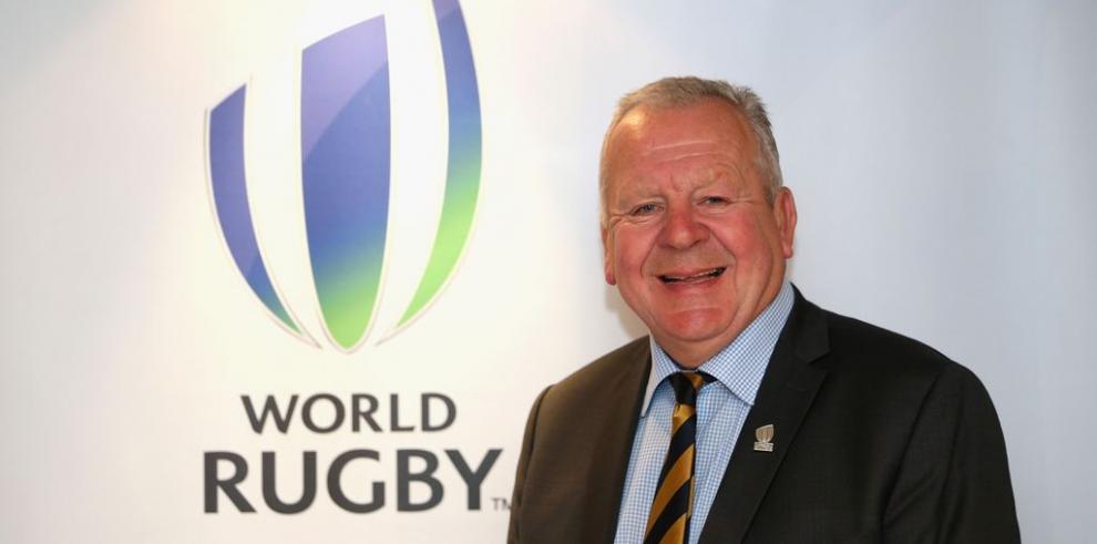 Bill Beaumont, presidente de la Federación Internacional de Rugby