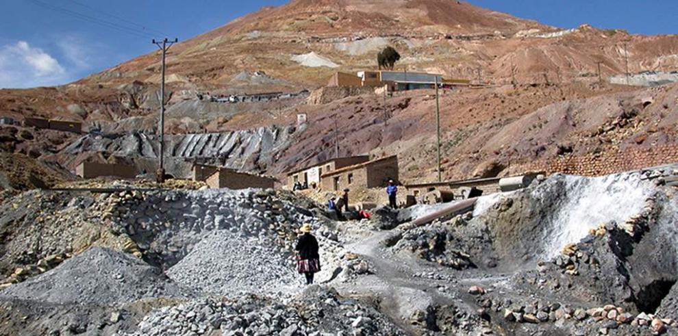 Mina en Bolivia