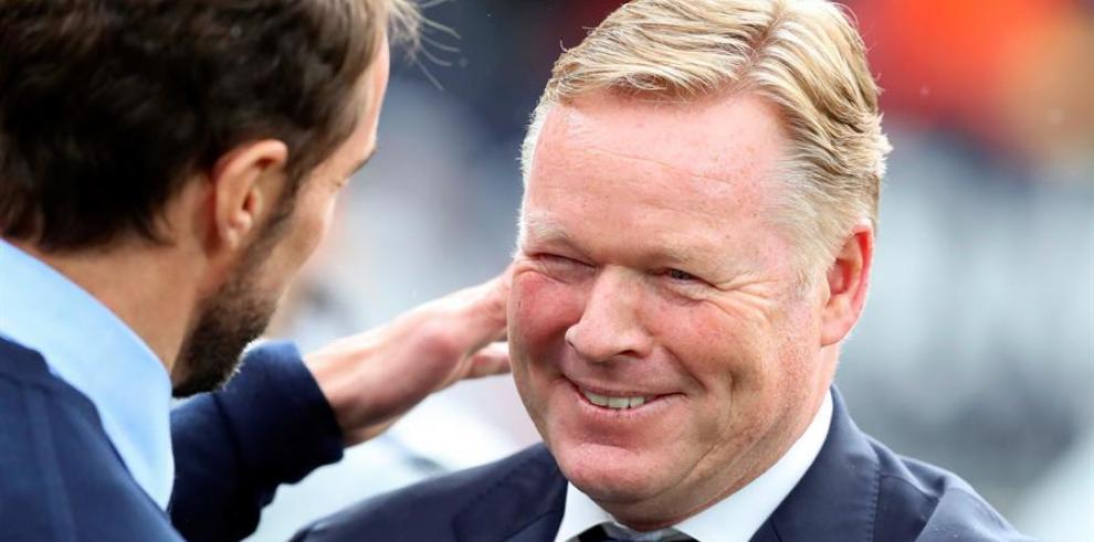El entrenador holandés Ronald Koeman