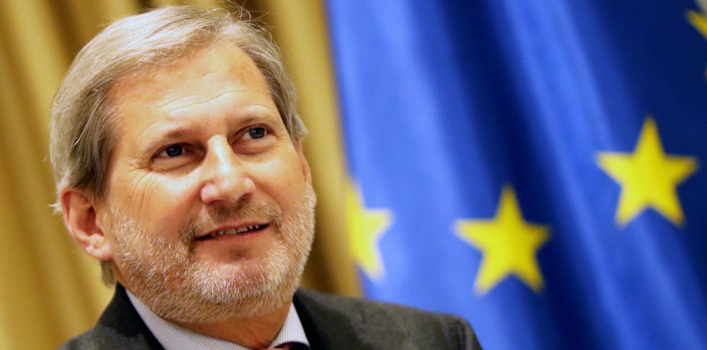El Comisario europeo de Presupuestos, Johannes Hahn.