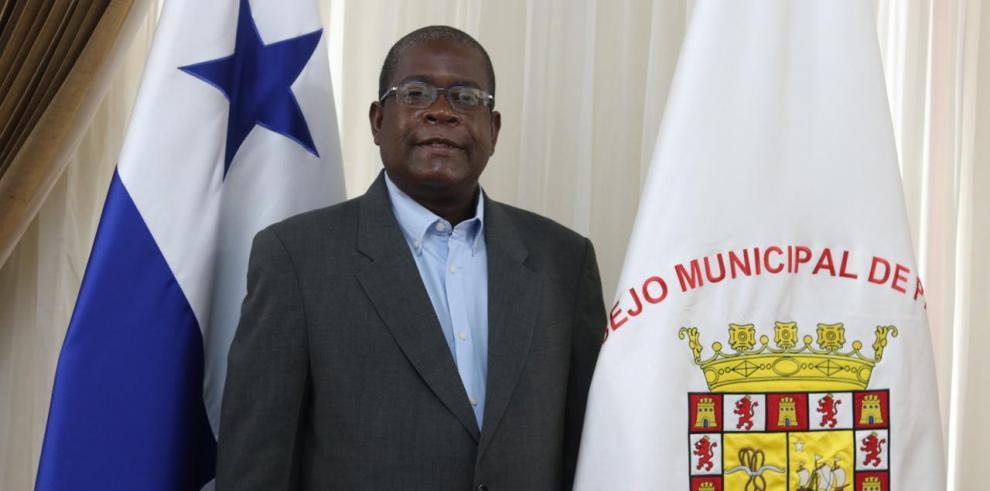 Senén Mosquera, representante de Curundú