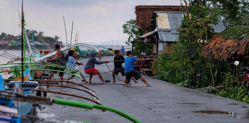 Tifon Vonfong en Filipinas