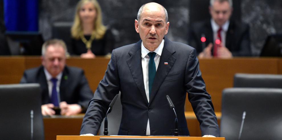 Primer ministro de Eslovenia, Janez Jansa