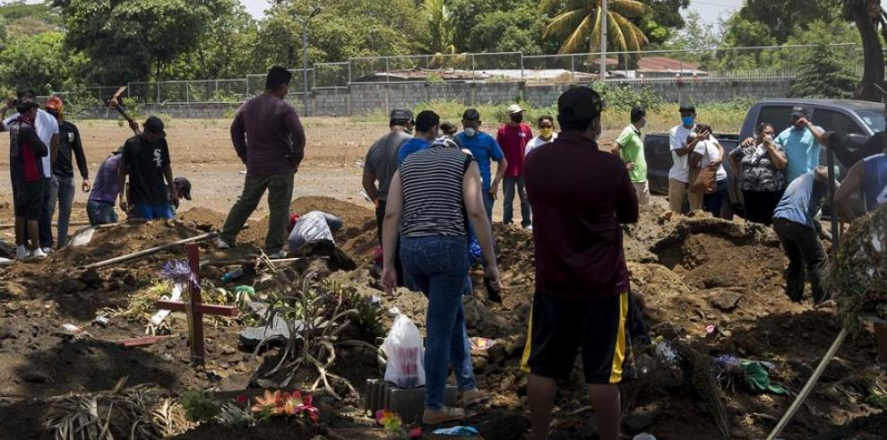 Entierro en Nicaragua