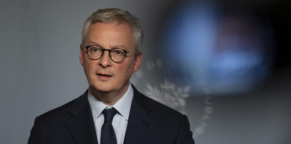 El ministro de Economía y Finanzas de Francia, Bruno Le Maire