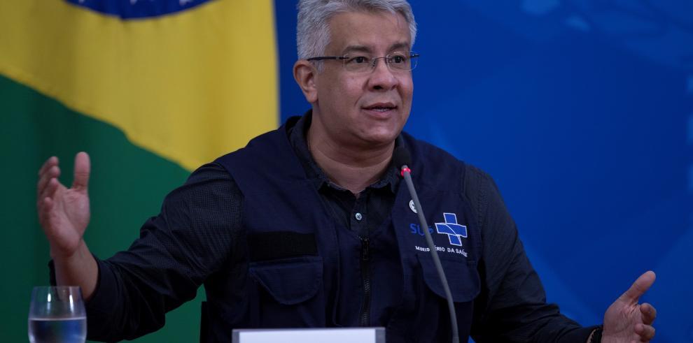 Exsecretario de Vigilancia Sanitaria de Brasil, Wanderson de Oliveira.