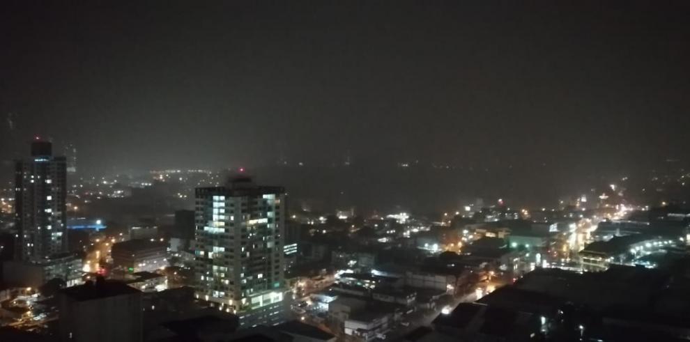 Falla eléctrica en la ciudad de Panamá